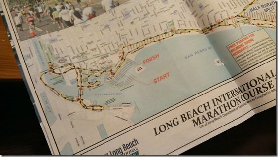 long beach marathon map 800x450 thumb 10 Things To Do Before Your Race
