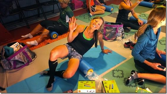 stuft mama rolling 800x450 thumb Running with Bart Yasso and Meeting Summer Sanders