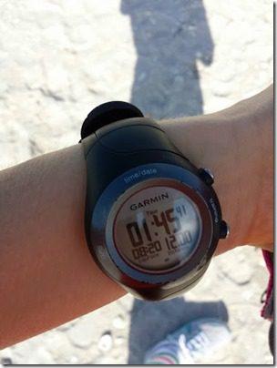 12 miles on the garmin 410 watch 376x501 thumb My Christmas Day 2013