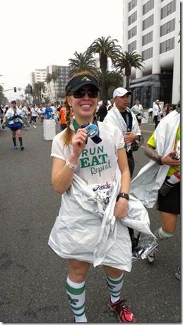 runeatrepeat la marathon results thumb A Year of Running Recap   Running 13 Half Marathons in 2013 and Failing, Kinda