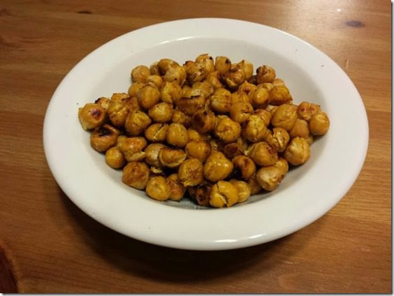 roasted chickpeas from flat belly cookbook thumb Friday Favorites for January 24