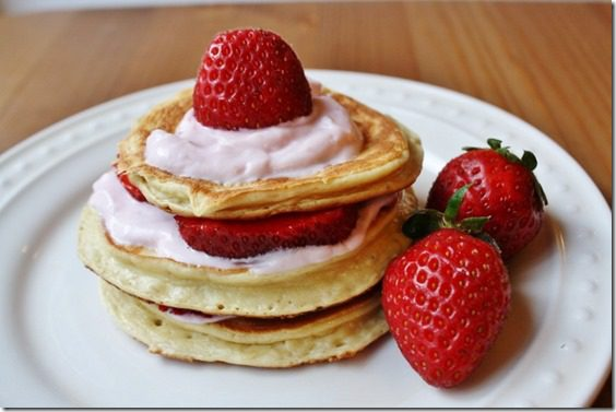 IMG 4389 800x533 thumb Strawberry Shortcake Protein Pancakes