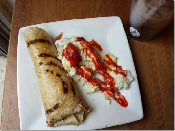 breakfast egg burrito 727x545 thumb Pediatric Cancer Research Foundation Half Marathon, 10K or 5K Discount Code and Info