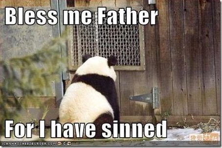 panda confession thumb Confession Thursday… Trident Layers
