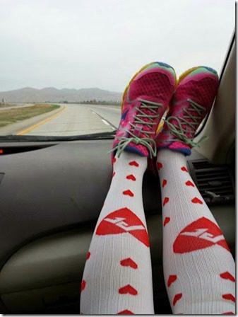 procompression heart socks half marathon 376x502 thumb Buzz Marathon in San Miguel, CA