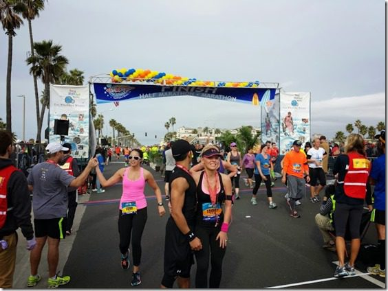surf city marathon finish line 669x502 thumb Surf City Marathon 2014 Results