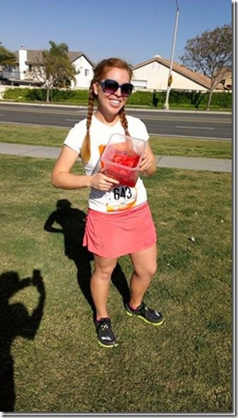 a love letter to watermelon and runnning thumb 10 Things You Must Eat Before The Marathon Or the Sky Will Fall! That, or my own Pre Race Diet…