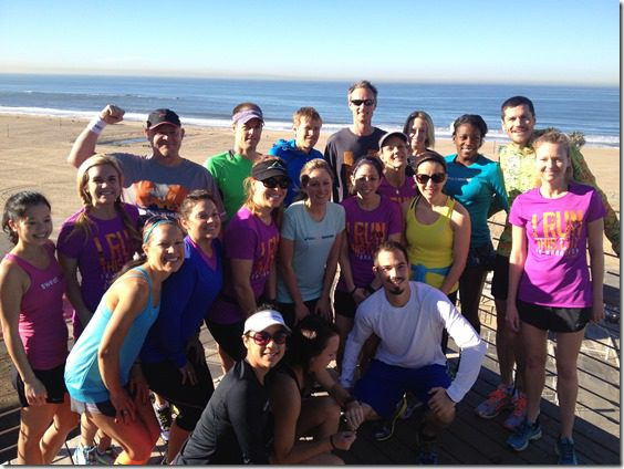 group run picture thumb LA Marathon and Carb Loading Mexican Style