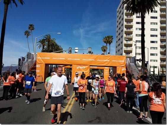 la marathon finish line 800x600 thumb LA Marathon and Carb Loading Mexican Style