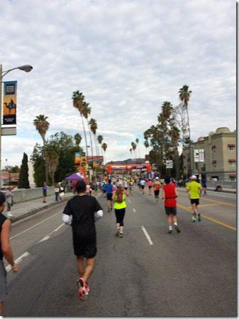 la marathon mile 8 hollywood sign 600x800 thumb LA Marathon and Carb Loading Mexican Style