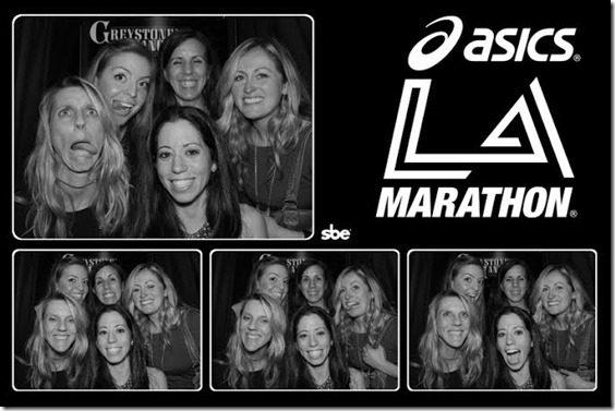 la marathon phoot booth 2 thumb LA Marathon Outtakes and Asics Giveaway Winners