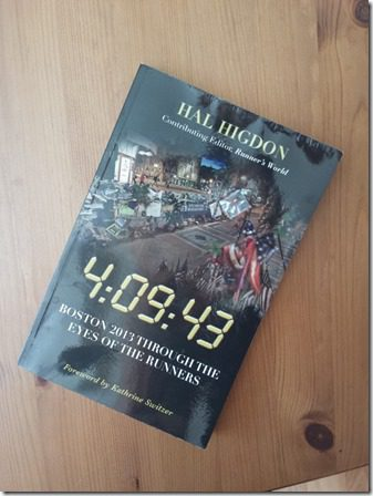 hal hidgon boston marathon book 600x800 thumb What I Ate and Wore and Ruined Today…