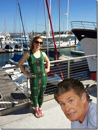 hanging out with david hasselhoff 409x545 thumb Weight Loss   What Youre Doing RIGHT