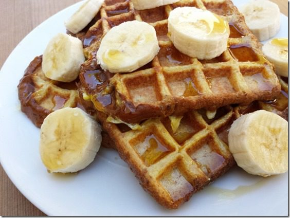 protien french toast waffles 800x600 thumb1 French Toast Waffles Recipe–Whole Grain, High Protein Breakfast
