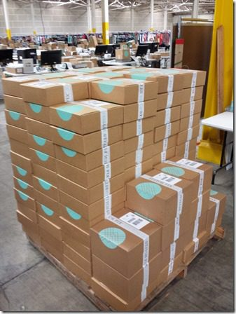 all the boxes 600x800 thumb What Really Goes on at StitchFix–behind the scenes at the mail order style company