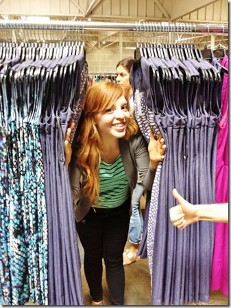anne gives it a thumbs up 600x800 thumb What Really Goes on at StitchFix–behind the scenes at the mail order style company