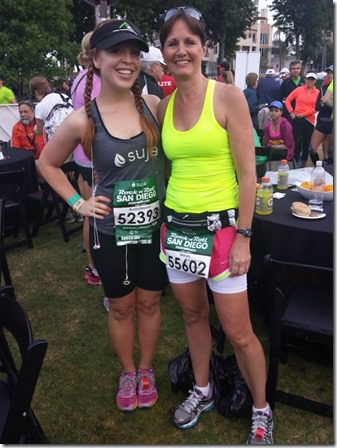 rer and marcey 600x800 thumb Suja Rock N Roll Marathon Results and Fun in SD