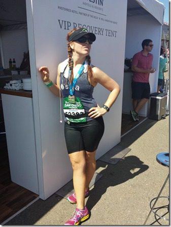 run westin booth 600x800 thumb1 Suja Rock N Roll Marathon Results and Fun in SD