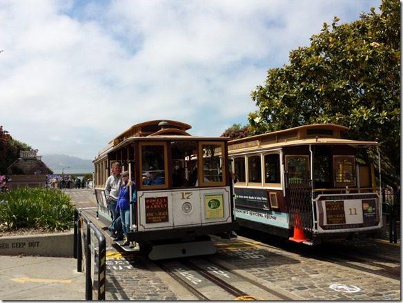 trolley in sf 800x600 thumb Irish Coffee Created in San Francisco and Dancing on Lombard Street