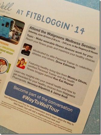 walgreens at fitbloggin presentation 800x600 thumb I'm on a Flyer at Fitbloggin