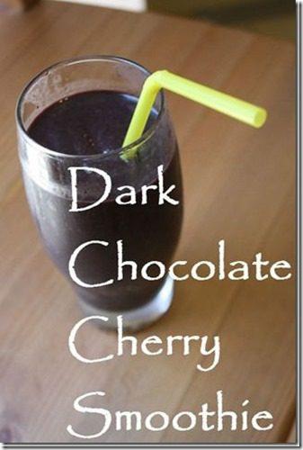 dark chocolate cherry smoothie 324x484 Top 5 Ways to Use Almond Milk