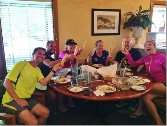 cheers to olive garden 600x450 thumb Top 10 Moments from the Hood to Coast Relay