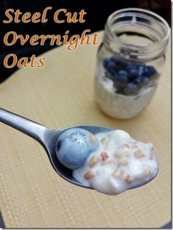 steel cut overnight oats easy recipe 600x800 thumb Easy Steel Cut Overnight Oats in Yogurt