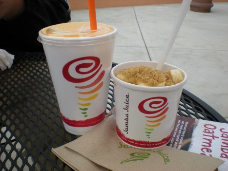 wedding information 065 Jamba Juice Oatmeal Review
