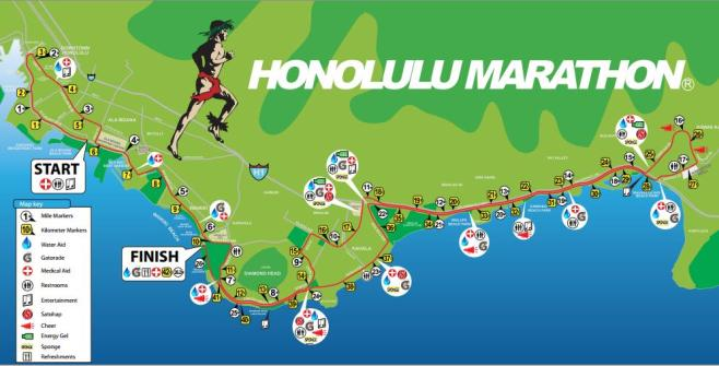 Honolulu-marathon-map