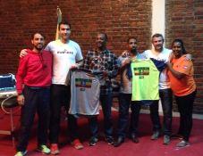 donación material federación etiope atletismo