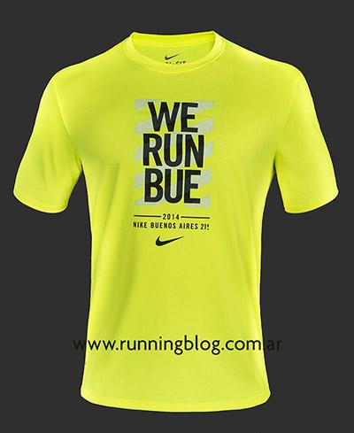 Remera Hombre - We Run Buenos Aires 21K