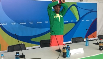 Olympic medallist who risked his life in protest to get