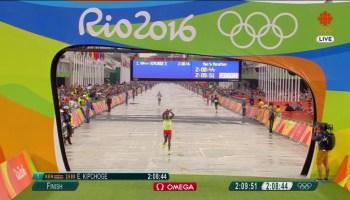 Olympic marathon silver medallist: