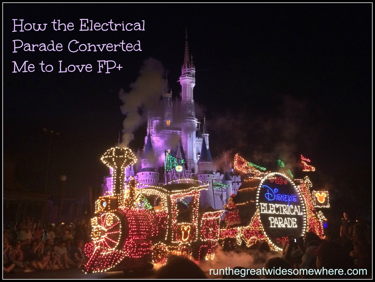 Disney FP+: Main Street Electrical Parade Viewing