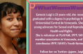 Genesis Luigi From Venezuela features on the #WhatWomenWant Young Feminist blog series