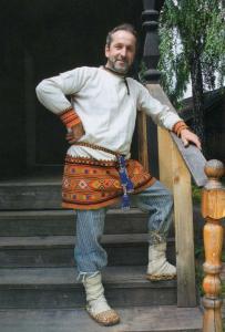 Мужской праздничный костюм Павловского уезда