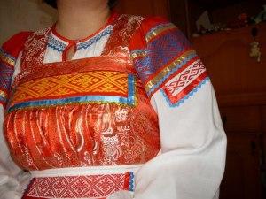 Рубаха женская. Алтайский край. Мастерица Любовь Гостева г. Барнаул
