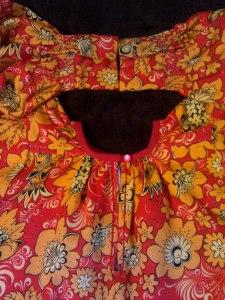Праздничная рубаха. Симбирская губ. Середина ХIХ в. Мастерица: Антипова Юлия