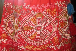 Каргопольские народные вышивки месяцесловы