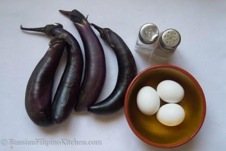 Tortang Talong (Eggplant Omelet) 02