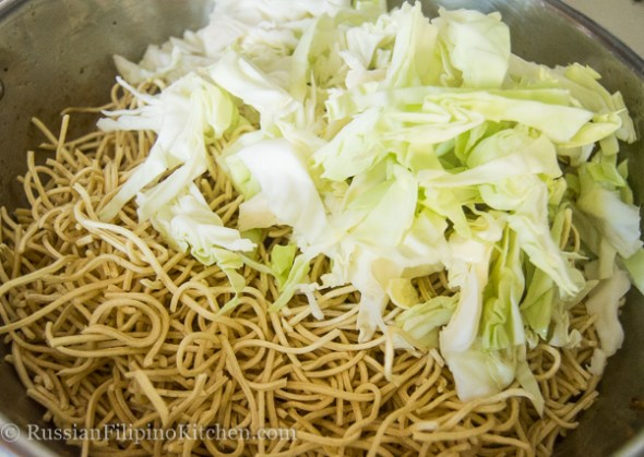 pancit recipe dry noodles