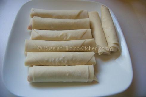 Easy Lumpia Shanghai (Filipino Meat-Filled Egg Rolls) 22