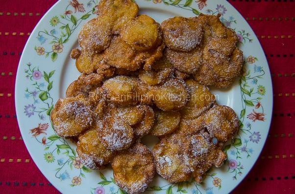 Maruya (Fried Banana Fritters)