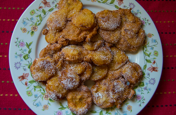 Maruya (Fried Banana Fritters)