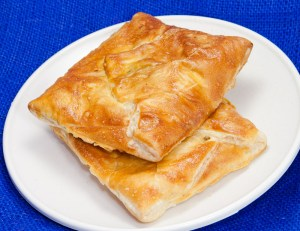 Khachapauri (Хачапури) a Georgian cheese pastry