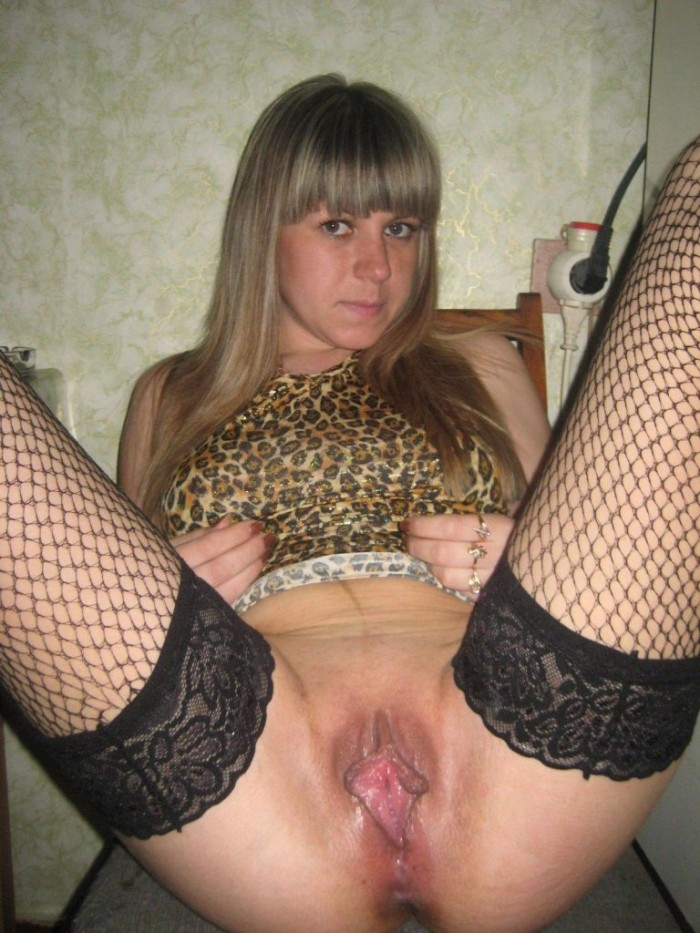 Russian girl with sweet big pussy