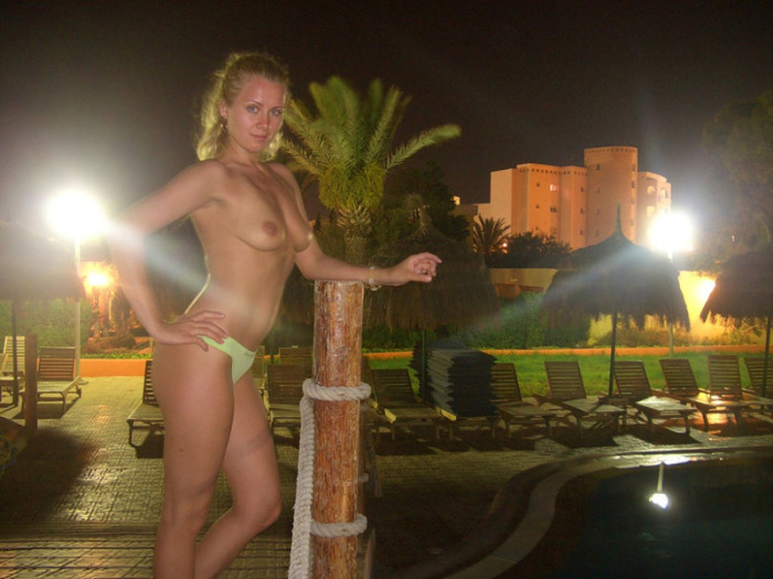 Hot amateur russian wife on vacation
