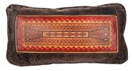 "Big House Home Collection ""Navajo Rug 8010"" Home Accent Pillows, 11 by 20-Inch"