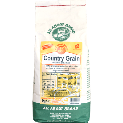 All About Bread Country Grain Flour 2kg