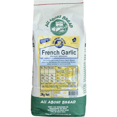 All About Bread French Garlic Breadmix 2kg